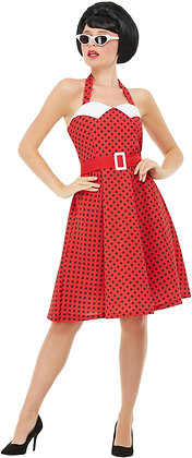 50s Pin Up Costume AFD51039