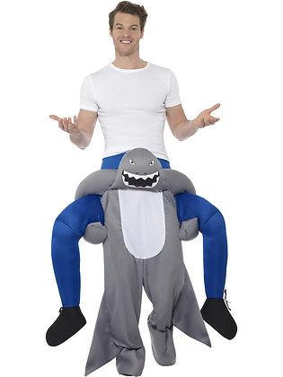 Piggy Back Shark Costume AFD47164