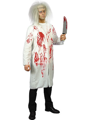 Doctor's Coat with Blood Costume AFD23068