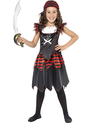 Pirate Skull and Crossbones Costume AFD32341