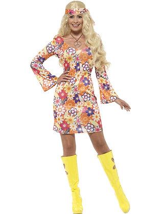 Flower Hippie Costume AFD45520