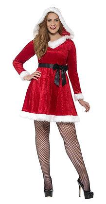 Curves Miss Santa Costume AFD44886