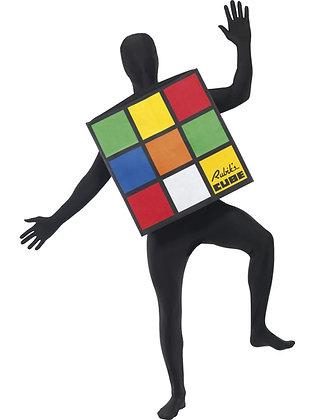 Unisex Rubic's Cube Costume AFD33663