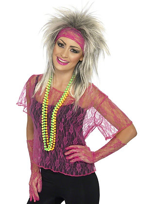 Neon Vest, Gloves and Headband AFD27235