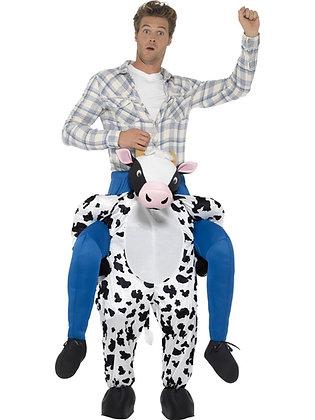 Piggy Back Cow Costume AFD24659