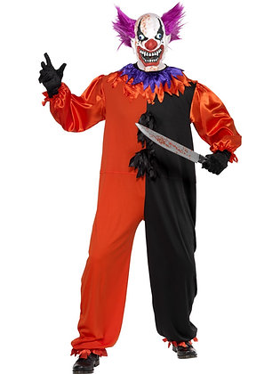 Cirque Sinister Clown Costume AFD33474