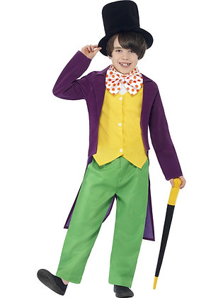 Roald Dahl Willy Wonker Costume AFD27141