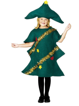 Young Christmas Tree Costume AFD28264