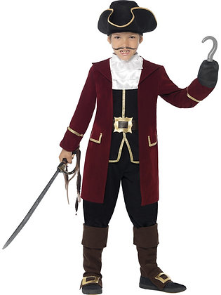 Deluxe Pirate Captain Costume AFD43997