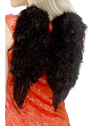 Black Feather Angel Wings AFD20896