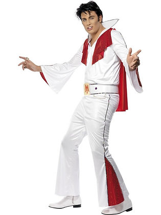 Elvis Costume White AFD29151