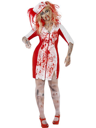 Curves - Zombie Nurse Costume AFD44340