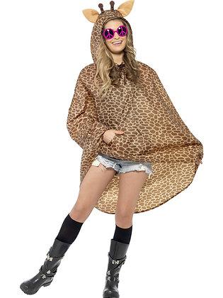 Giraffe Party Poncho AFD43894