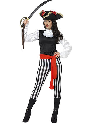 Pirate Beauty Costume AFD25561