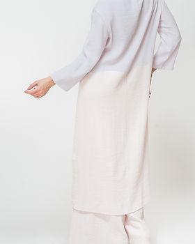 White Linien Dress