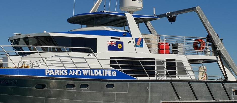 WA Parks and Wildlife Patrol boat goes remote