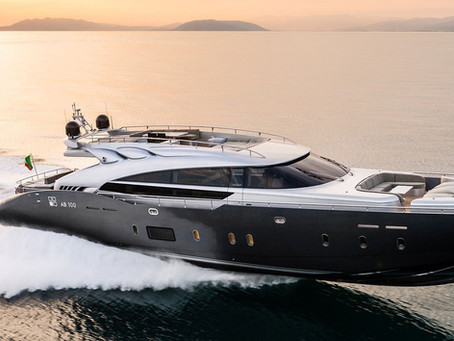 FIRST MAN V12-2000 OFF THE ASSEMBLY LINE DELIVERED TO AB YACHTS