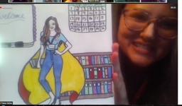 Superhero Drawing, Talon
