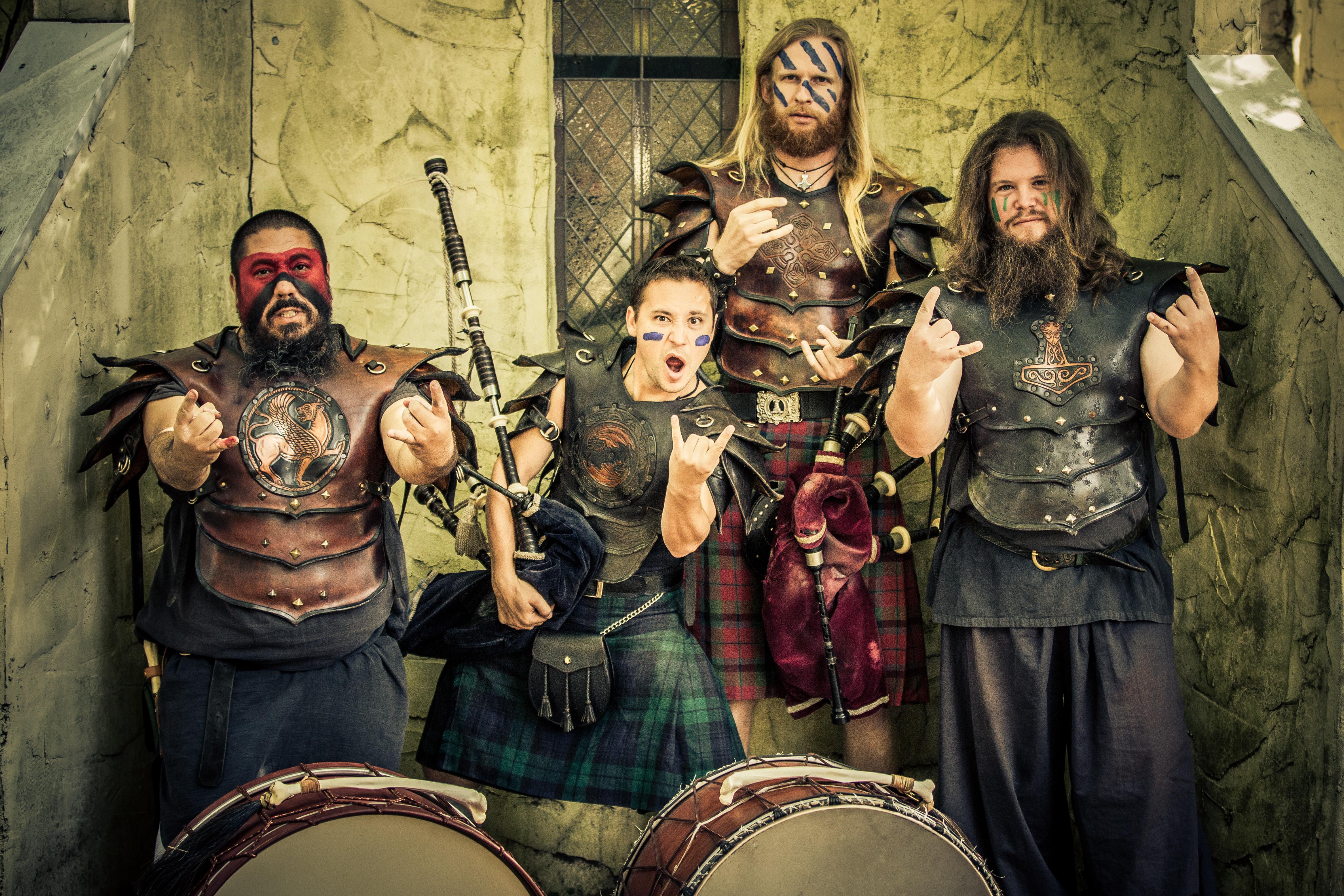 Primal Bagpipe and Drum Music