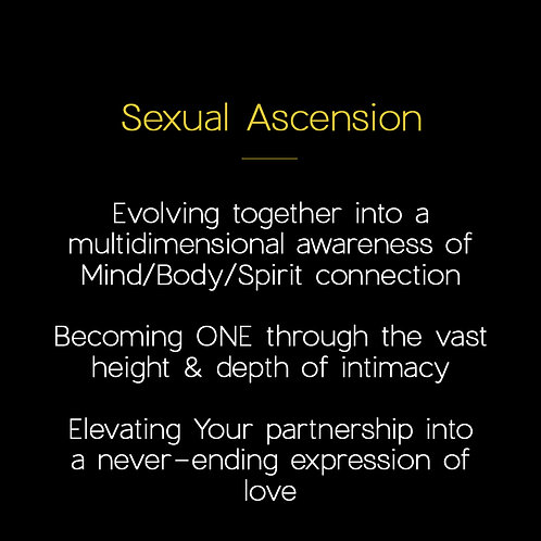 Sexual Ascension [6x couple's sessions]