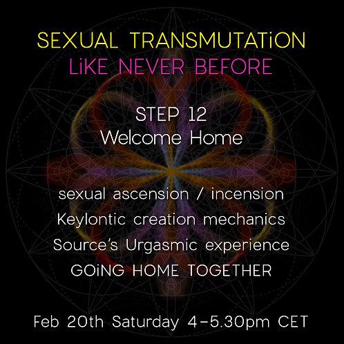 STEP 12 | Welcome Home