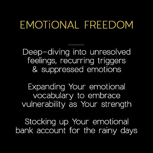 EMOTiONAL FREEDOM [6x sessions]