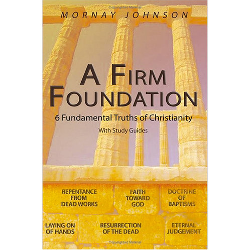 A Firm Foundation (Paperback)