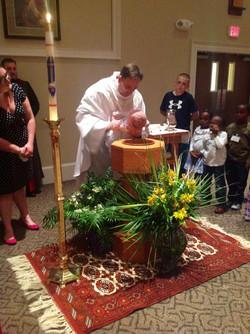 baptismal font altar guild