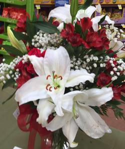 debbie altar flowers