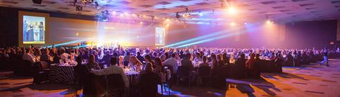 Room Shot at the MTN Radio Awards