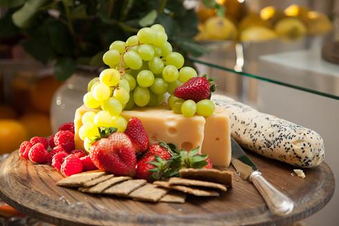 Cheese platter at Stellenbosch at Summerplace event
