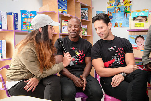 Kabelo, Danny K and Stacey Norman