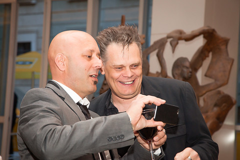 Barney Simon and Mark Pilgrim