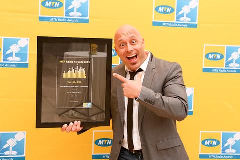 Mark Pilgrim at the MTN Radio Awards