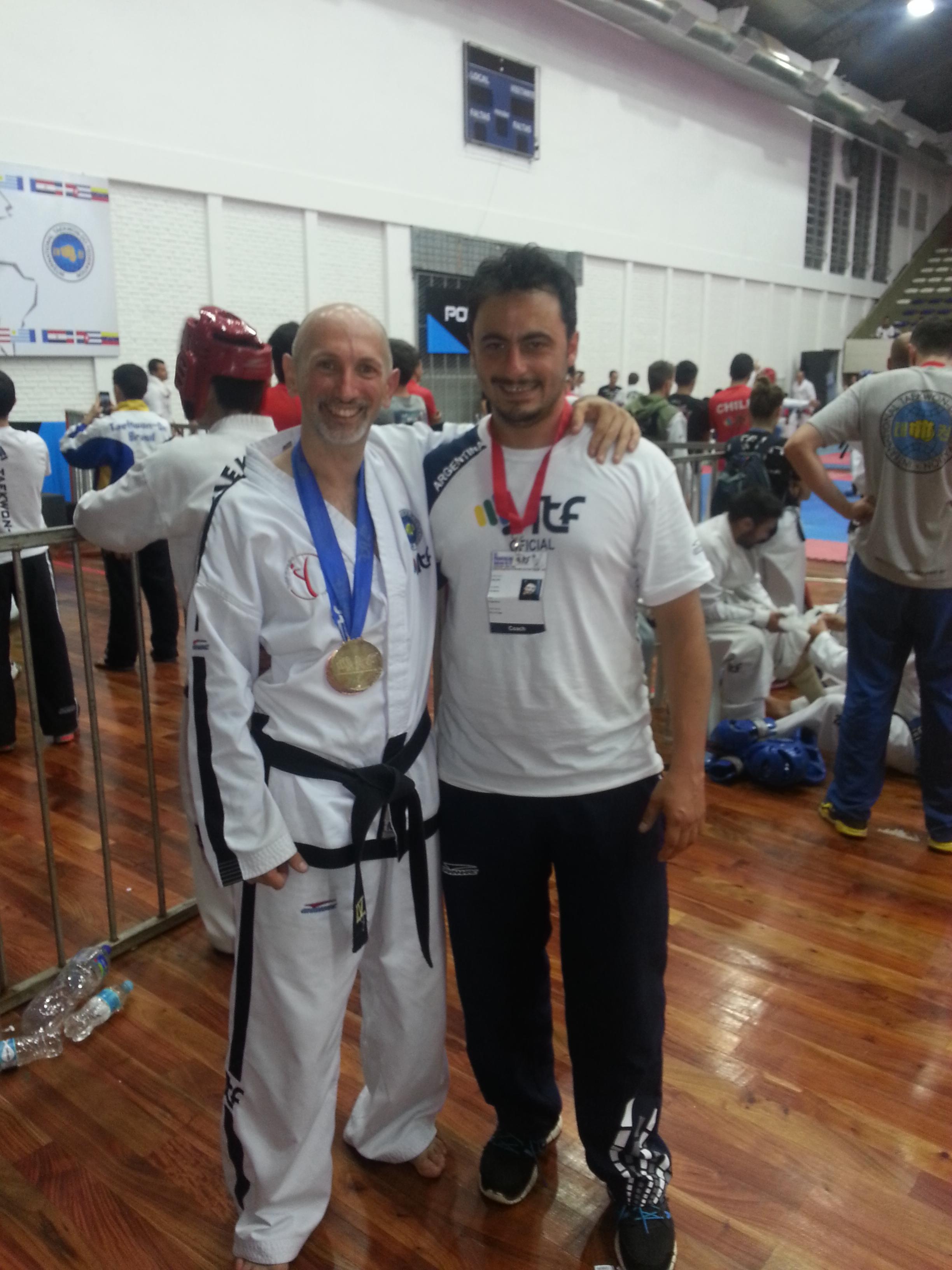 Con Gustavo Balbis