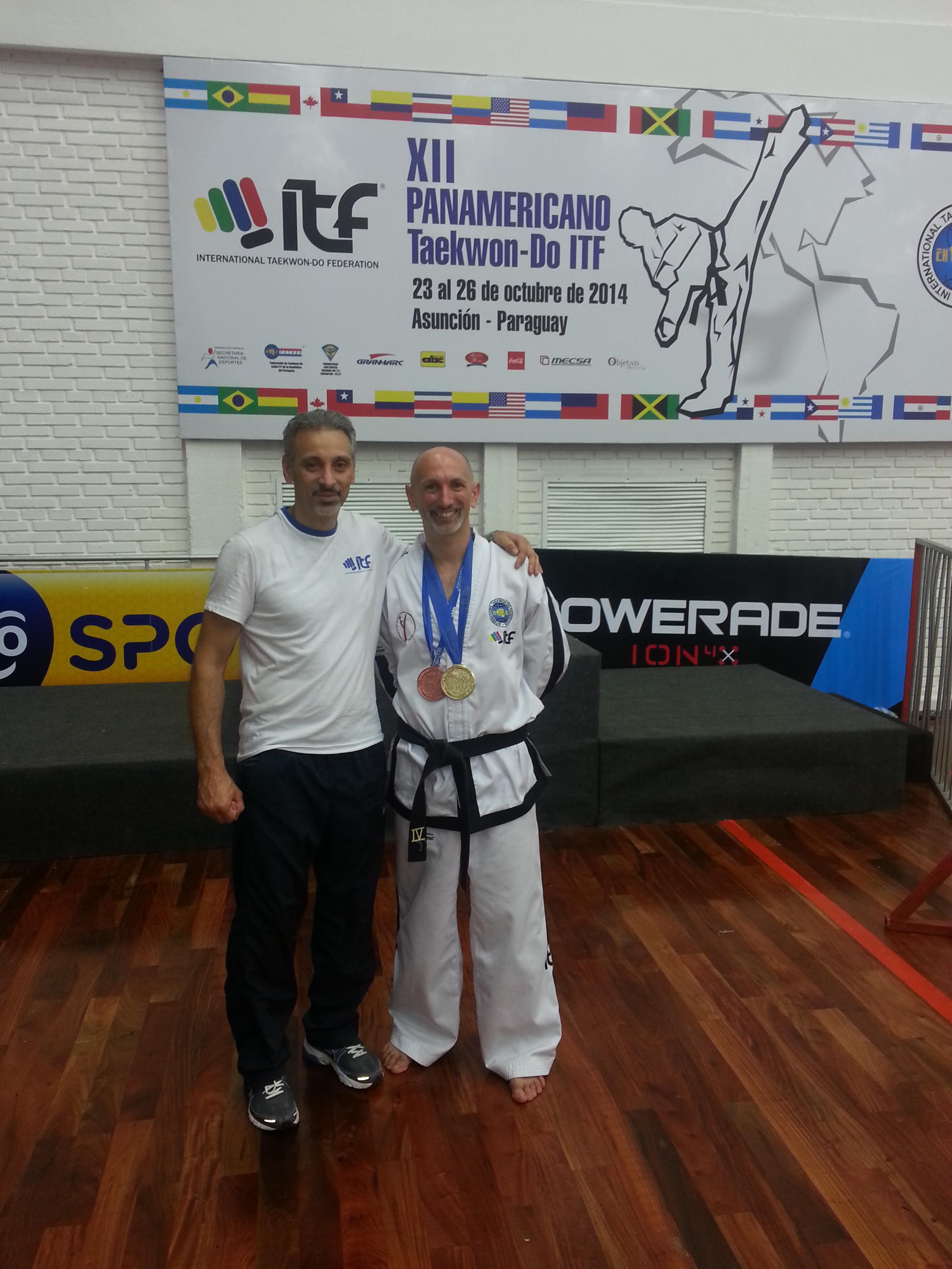 Christian Di Leo y M. Vatrano