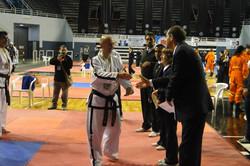 Entrega medalla Subcampeonato Formas