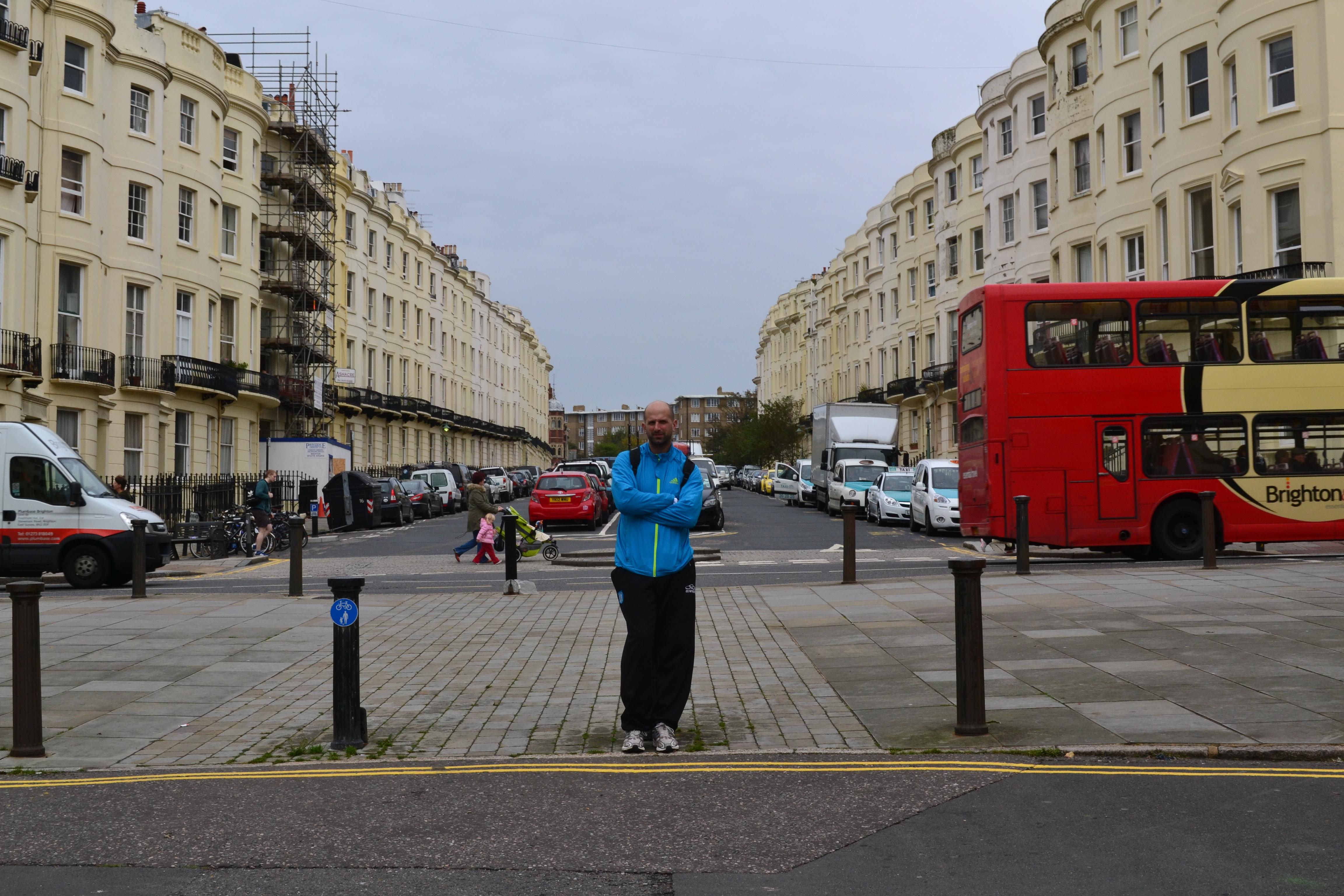 Juan Cruz Di Leo en Brighton