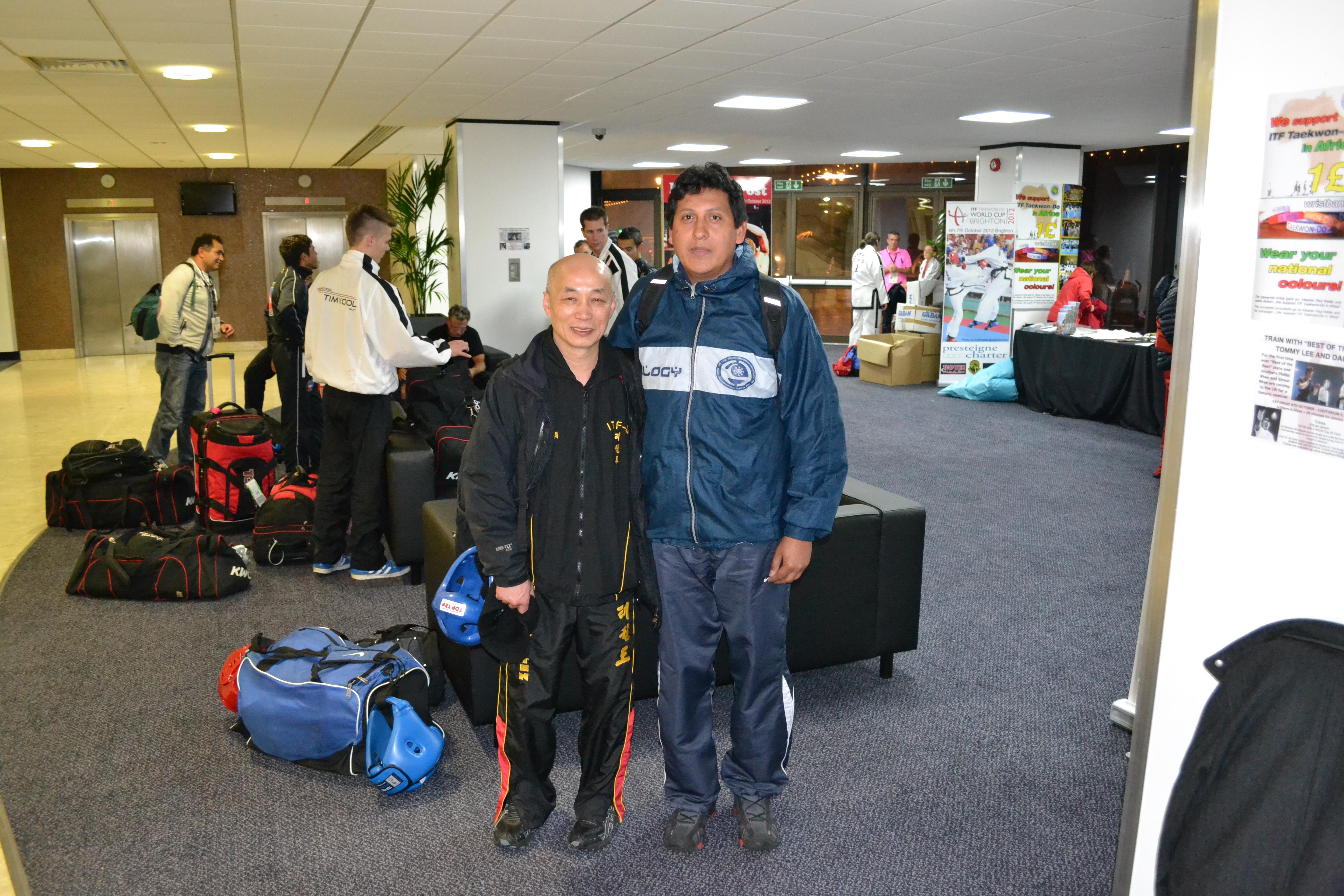 J. Riquelme y el Maestro Lan