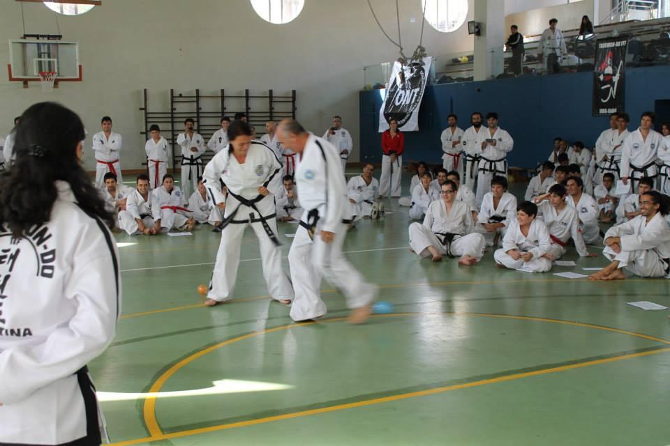 A. Martinangeli en acción