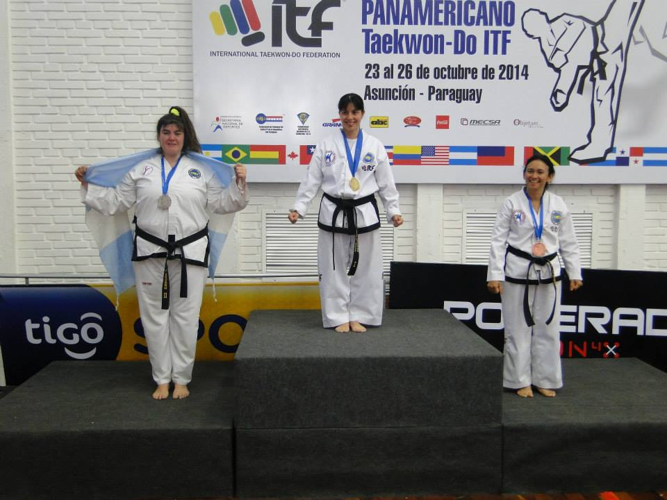 Emilce Defrance podio formas