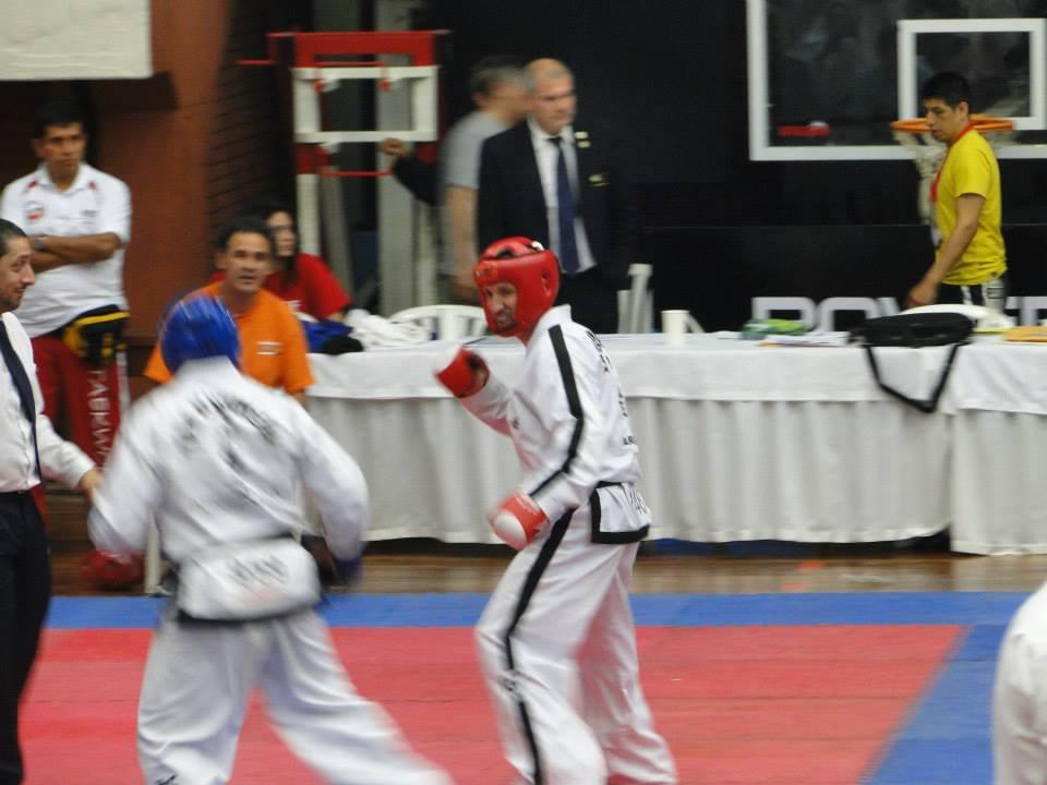 Christian Di Leo en combate