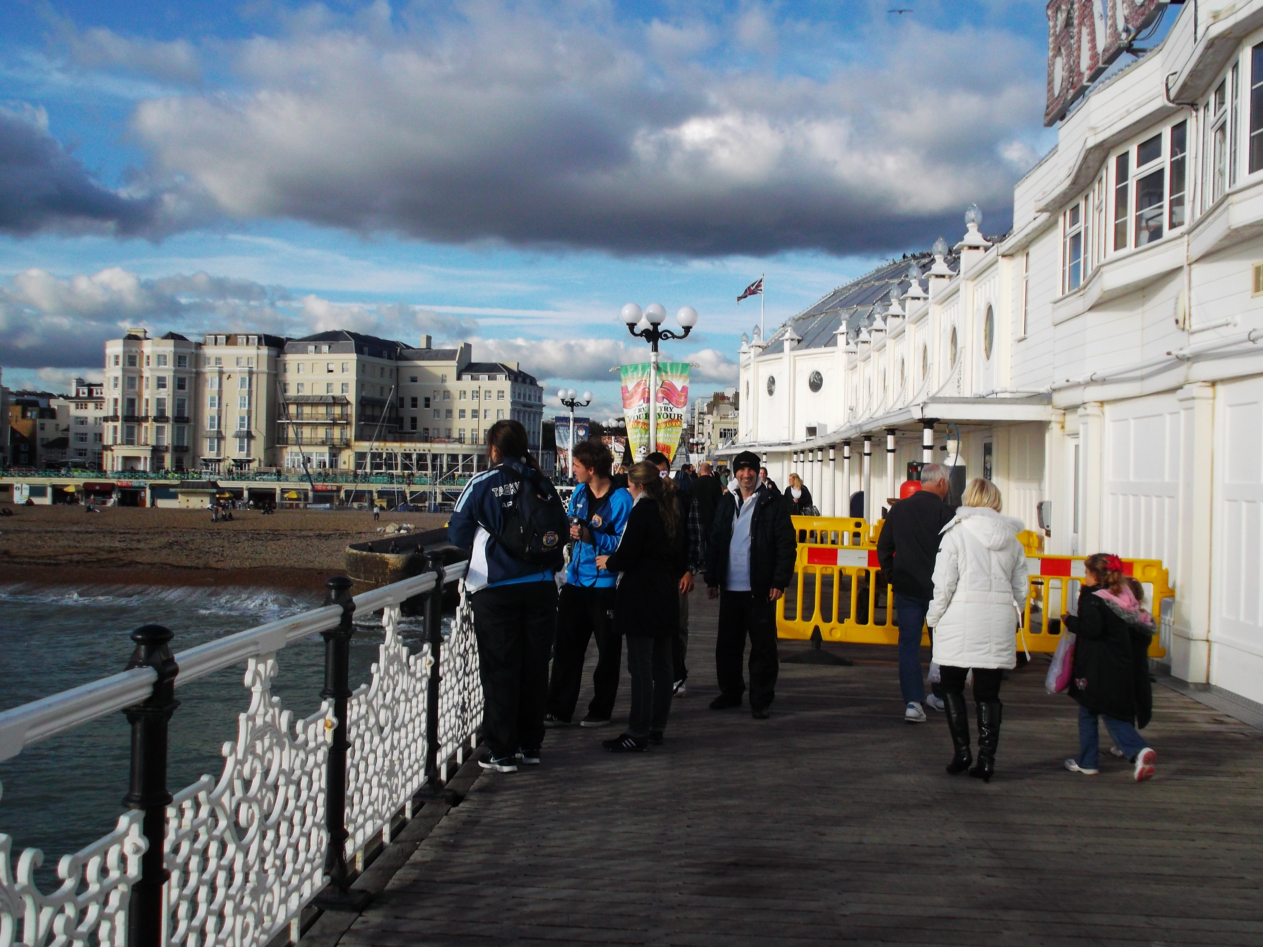 Delegación en Brighton