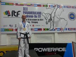 Christian Di Leo en el podio