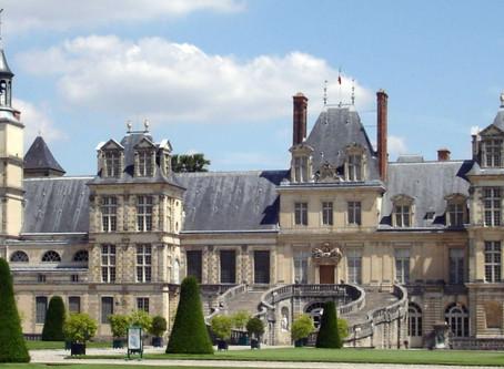 Château de Fountainebleau, a daytrip from Paris.