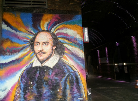 The Queen's Walk, from Shakespeare to Boudica, London