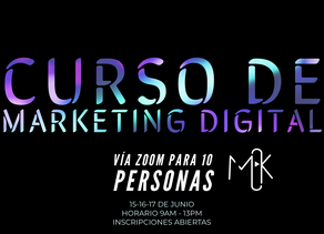 Curso de Marketing Digital ONLINE