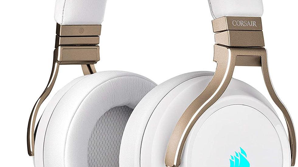 Corsair Virtuoso RGB - Auriculares de gaming inalámbricos, sonido envolvente de