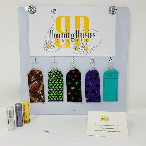 Lip Balm Holder, Stocking Stuffer, Wedding Favor, Baby Shower Favor, Holiday Fun