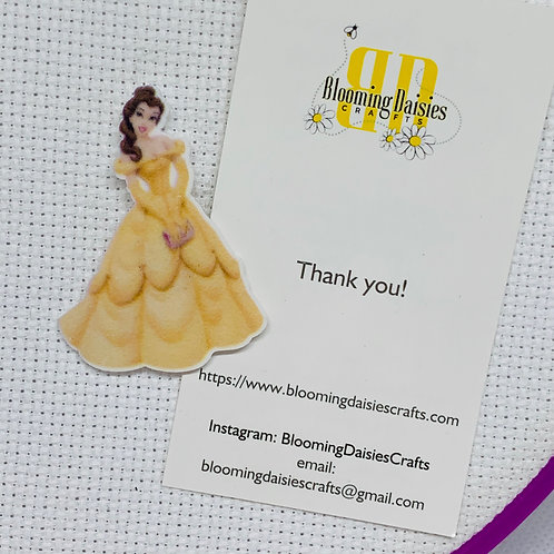 Belle in Yellow Dress Needle Minder